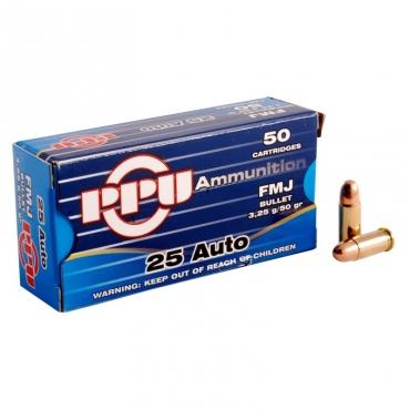 PPU 6.35mm 50grs FMJ