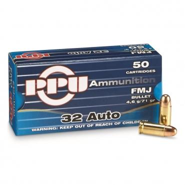 PPU 7.65mm 71Grs FMJ