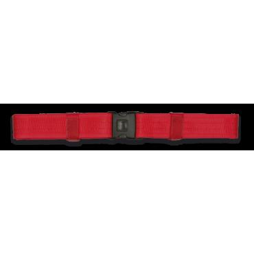 Cinturão Externo Dingo 138X5 cm Vermelho
