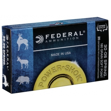 Federal Classic 30-06 180Gr Soft Point