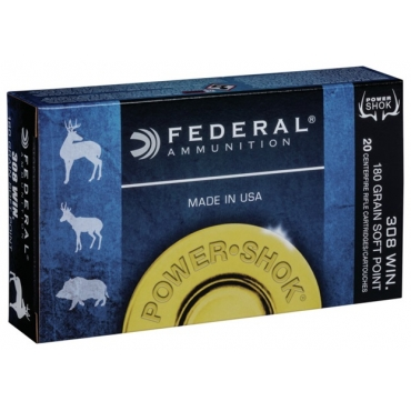 Federal Classic .308 Win 180Gr Soft Point