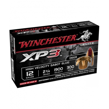 Cartucho Winchester Cal 12 XP3