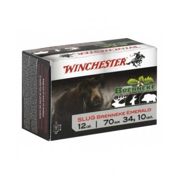 Cartucho Winchester Cal 12 Bala Brenneke Emerald - CHBKE12