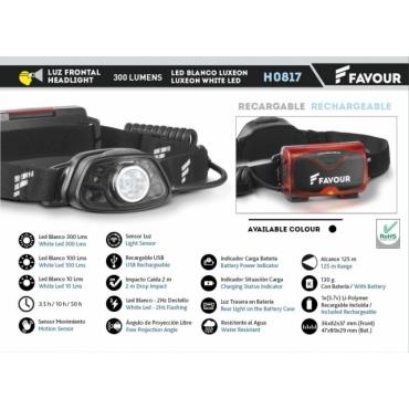 Headlight Favour H0817