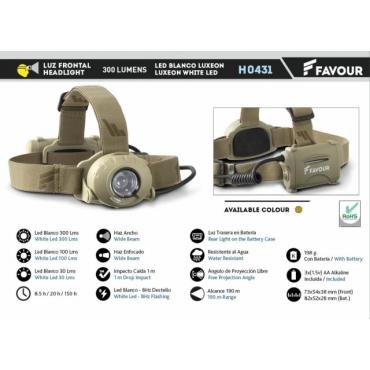 Headlight Favour H0431