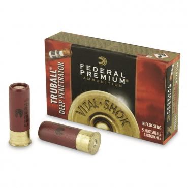 Federal Premium Truball Rifled Slug HP Cal 12