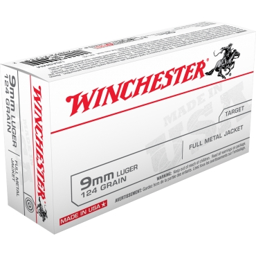 Winchester 9X19 115gr FMJ