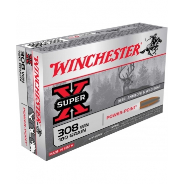 Winchester 308 Win 180Gr Power Point