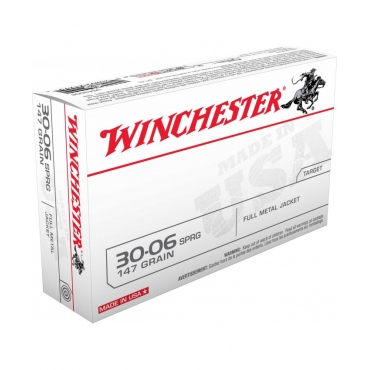 Winchester 30.06 147Gr FMJ